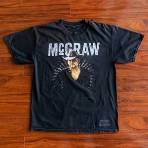 Vintage Tim McGraw Live Your Voice 2008 Tour Shirt